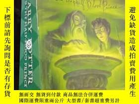 二手書博民逛書店Harry罕見Porter and the half-blood