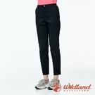 『VENUM旗艦店』【wildland 荒野】女 彈性抗UV都會合身9分褲『黑色』0A91305