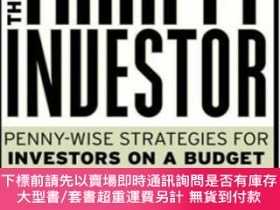 二手書博民逛書店The罕見Thrifty Investor: Penny-wise Strategies For Investor