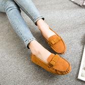 氣質豆豆鞋/平底鞋/休閒鞋(201號)