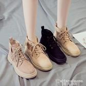馬丁靴網紅馬丁靴女鞋2020新款秋款百搭英倫風加絨短靴子冬季棉鞋秋冬鞋 非凡小鋪