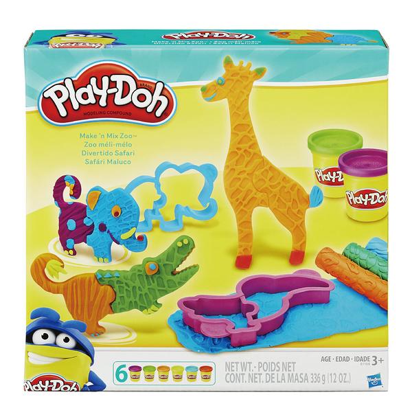 Play-Doh培樂多-培樂多動物造型工具遊戲組