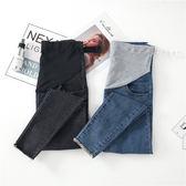 孕婦褲 夏裝牛仔褲顯瘦
