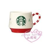 ♥小花花日本精品♥星巴克聖誕節限定馬克杯 白色聖誕節馬克杯 杯子 飲料杯 01024104