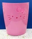 【震撼精品百貨】Hello Kitty 凱蒂貓~日本塑膠垃圾桶/置物桶-粉#86258