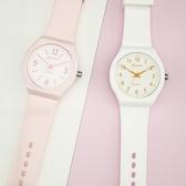 新品名瑞手錶女韓國簡約考試手錶防水學生石英表女孩果凍電子表 交換禮物