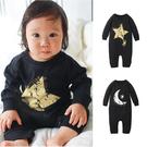 長袖連身衣 造型印花 男寶寶 女寶寶 爬服 哈衣 Augelute Baby 70015