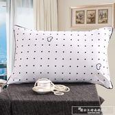 磨毛枕頭枕芯單人雙人枕學生枕48*74cm舒適枕CY『韓女王』
