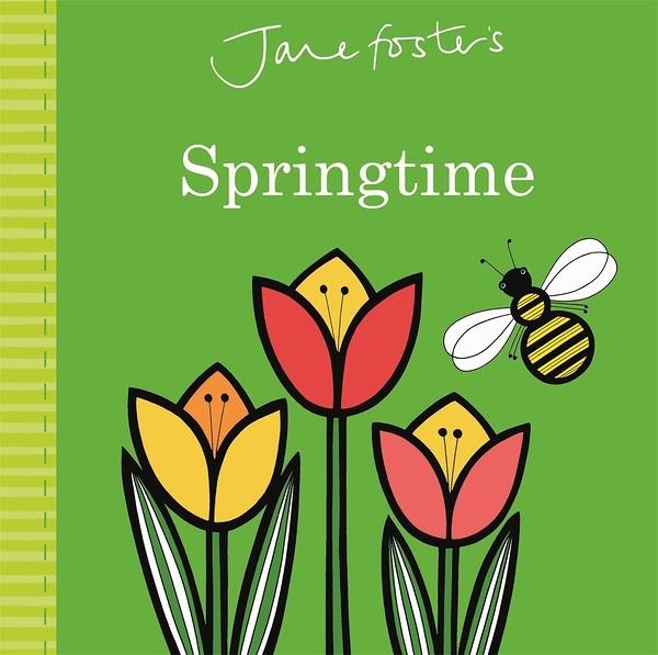 【麥克書店】JANE FOSTER SPRINGTIME /硬頁書《幼兒認知》