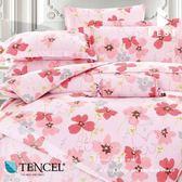 天絲床包兩用被四件式 雙人5x6.2尺 安琪拉 100%頂級天絲 萊賽爾 附正天絲吊牌 BEST寢飾