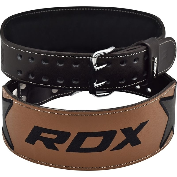 RDX057【線上體育】RDX 舉重腰帶 4 EMBROIDERY 黑