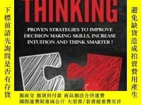 二手書博民逛書店Critical罕見Thinking: Proven Strategies To Improve Decision