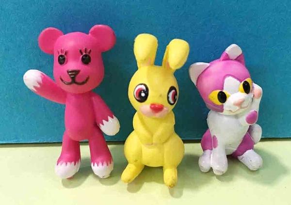 【震撼精品百貨】PostPet_MOMO熊~MOMO熊造型擺飾-3入#71923