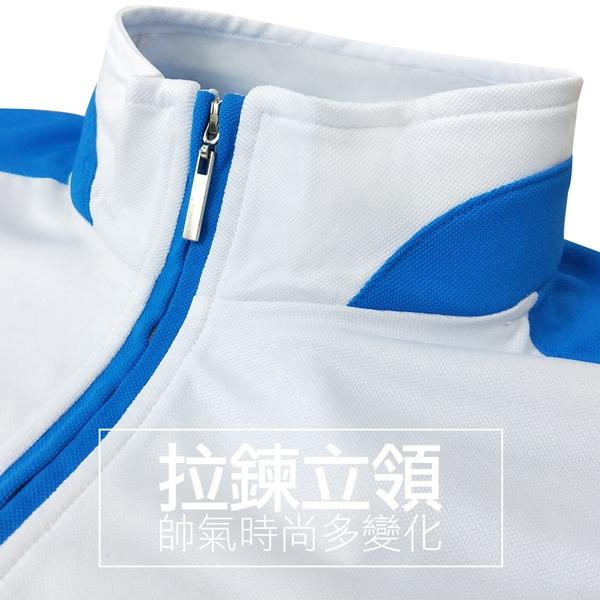 MIT都會時尚速乾立領拉鍊休閒短T 透氣 機能(共二色)● 樂活衣庫【BW1015】