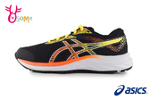 ASICS亞瑟士 GEL-EXCITE 6 GS 成人女款 生活運動系列 慢跑鞋 運動鞋 親子鞋 A9151#黑黃◆OSOME奧森鞋業