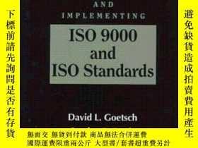 二手書博民逛書店Understanding罕見And Implementing Iso 9000 And Iso Standard