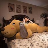 玩偶趴趴狗毛絨玩具狗狗公仔可愛女孩抱著睡覺懶人床上抱枕玩偶布娃娃YYS 伊莎公主