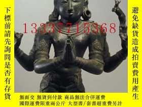 二手書博民逛書店【罕見】佛像 佛教藝術資料:REALM OF THE GODS,