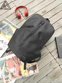 雙肩包男士休閒旅游背包時尚潮流男生韓版旅行包大學生書包包-Ifashion