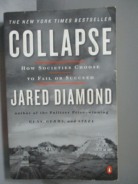 【書寶二手書T6/社會_OFV】Collapse-How Societies Choose to Fail or Suc