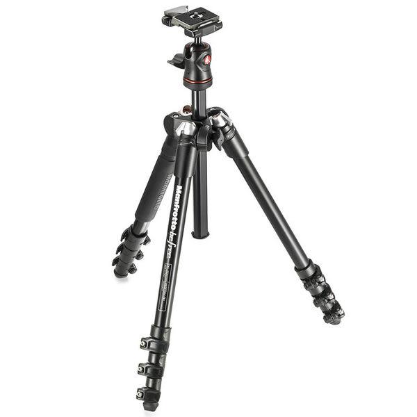 ◎相機專家◎ Manfrotto MKBFRA4-BH Befree 自由者旅行腳架三腳架套組 正成公司貨