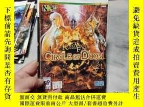 二手書博民逛書店遊戲光盤罕見XBOX 360 CORCLE OF DOOM (