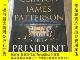二手書博民逛書店The罕見president is missingY404028 Bill Clinton and James