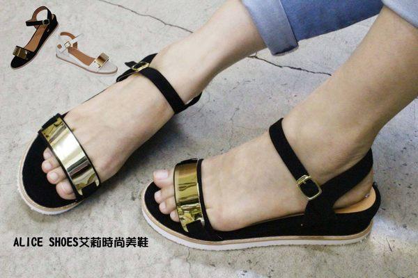 ALICE SHOES艾莉時尚美鞋 請把握!!搶鮮擁有潮流型厚底涼鞋@116@MIT台灣製造