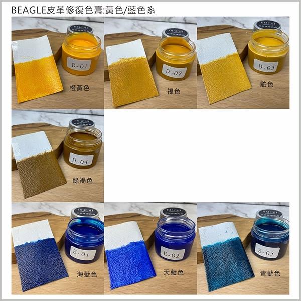 BEAGLE 皮革修復色膏 改色膏 皮鞋/皮椅/皮包/皮衣修補 沙發翻新 方向盤修補 真皮/人造皮都適用