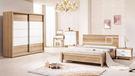 【森可家居】金詩涵6尺床台式床組(全組) 7ZX136-3 房間組 木紋質感 無印風 北歐風