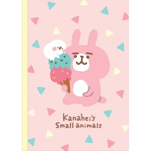 Kanahei 卡娜赫拉 日本人氣小動物部落客 A5 筆記本/記事本 冰淇淋款 該該貝比日本精品 ☆