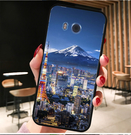 [U11 硬殼] HTC u11 U-3u u3u 手機殼 外殼 日本富士山