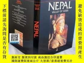 二手書博民逛書店【罕見】Nepal Valley of Gods 尼泊爾Y171