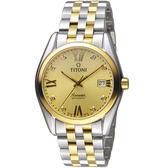 TITONI空中霸王系列經典傳奇腕錶   80909SY-064