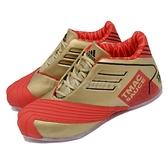 【海外限定】adidas 籃球鞋 TMAC 1 McDonalds 紅 金 愛迪達 麥蒂 麥當勞 男鞋【ACS】 FX2075