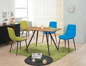 【新北大】✪ C851-3 艾維尼4尺淺色餐桌(不含餐椅)-18購