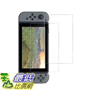 [106美國直購] Anker B06XCXJZWJ 螢幕保護貼 Glass Screen Protector for Nintendo Switch [2-Pack]