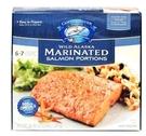 [COSCO代購 需低溫宅配] C610597 Copper River 冷凍調味野生阿拉斯加鮭魚排 1.02 公斤