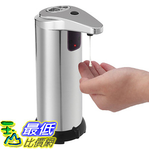 [106美國直購] 自動皂液機 Automatic Soap Dispenser TAPCET Touchless Stainless Steel Automatic