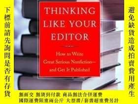 二手書博民逛書店Thinking罕見Like Your EditorY255562 Alfred Fortunato W. W