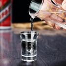 酒杯 玻璃酒杯白酒杯家用小號2兩酒杯一口杯分酒器套裝酒盅烈酒子彈杯【快速出貨八折鉅惠】