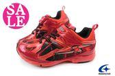 Moonstar 月星 大童運動鞋SUPERSTAR 2E寬楦 競速機能鞋F9610#紅 零碼 6折 出清