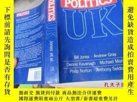 二手書博民逛書店politics罕見87078POLITICS UK( 英國政治