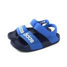 adidas ADILETTE SANDAL K 涼鞋 藍色 中童 童鞋 G26878 no685