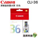 CANON CLI-36 彩色 原廠盒裝 IP100/IP110