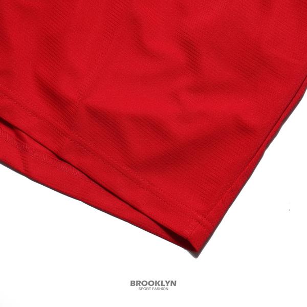 NIKE 短褲 DRI-FIT 大勾勾 紅 白大LOGO 運動褲 排汗 男 (布魯克林) BV9386-657