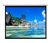 《新竹.竹北投影機布幕專賣》加拿大 GRANDVIEW CB-MI100WM 100 吋 4:3 智能電動布幕