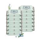韓國 Enblanc 頂級柔緻純水有蓋攜帶裝濕紙巾-藍鳶尾花萃取物70抽10包(箱購)