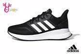 adidas RUNFALCON 成人男款 情侶鞋 輕盈緩震 慢跑鞋 運動鞋 Q9361#黑色◆OSOME奧森鞋業