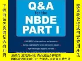 二手書博民逛書店First罕見Aid Q&a For The Nbde Part